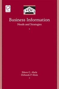 Business Information: Needs and Strategies