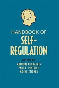 Book Handbook Of Self-regulation by Monique Boekaerts