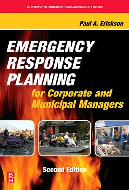 Book Emergency Response Planning For Corporate And Municipal Managers by Paul A. Erickson