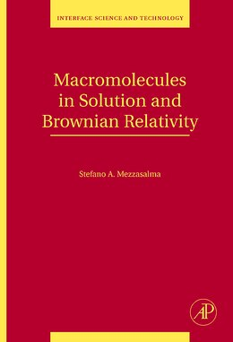 Book Macromolecules in Solution and Brownian Relativity by Stefano Antonio Mezzasalma