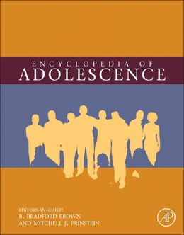 Book Encyclopedia Of Adolescence by B. Bradford Brown
