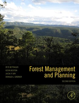 Book Forest Management and Planning by Peter Bettinger