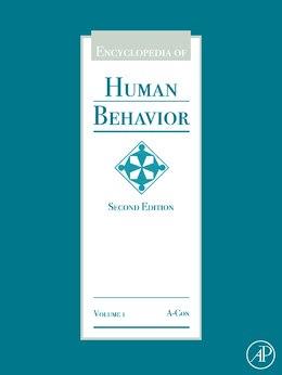 Book Encyclopedia Of Human Behavior by Vilayanur S. Ramachandran