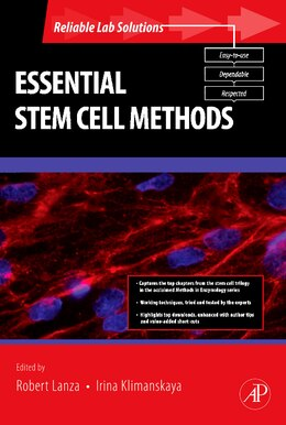 Book Essential Stem Cell Methods by Robert Lanza