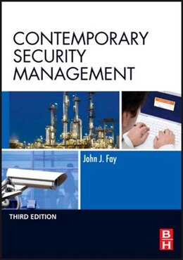 Book Contemporary Security Management by John Fay