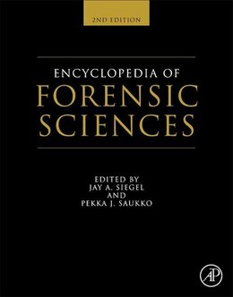 Book Encyclopedia Of Forensic Sciences by Jay A. Siegel