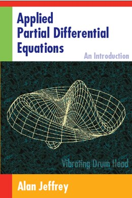 Book Applied Partial Differential Equations: An Introduction by Jeffrey, Alan
