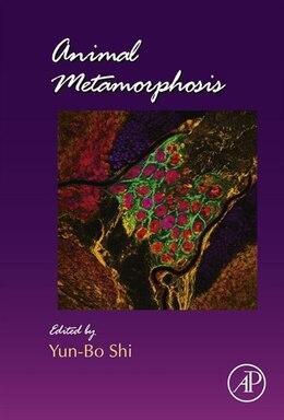 Book Animal Metamorphosis by Yun-Bo Shi