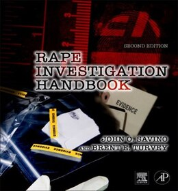 Book Rape Investigation Handbook by John O. Savino
