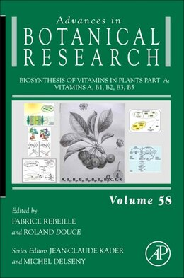 Book Biosynthesis of Vitamins in Plants Part A: Vitamins A, B1, B2, B3, B5 by Fabrice Rebeille