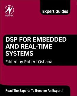Book DSP for Embedded and Real-Time Systems by Robert Oshana