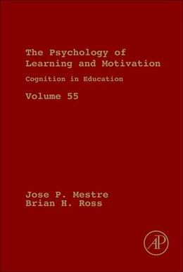 Book Cognition in Education by Jose Mestre