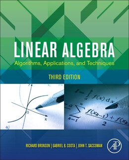 Book Linear Algebra: Algorithms, Applications, And Techniques by Richard Bronson