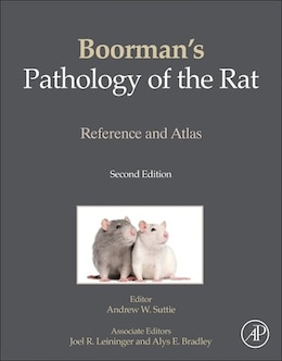 Book Boorman's Pathology Of The Rat: Reference And Atlas by Andrew W. Suttie