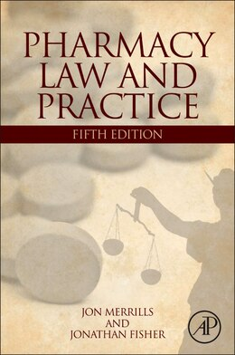 Book Pharmacy Law And Practice by Jon Merrills