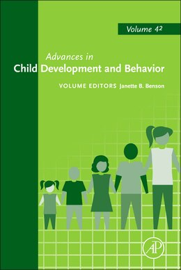 Book Advances In Child Development And Behavior by Benson
