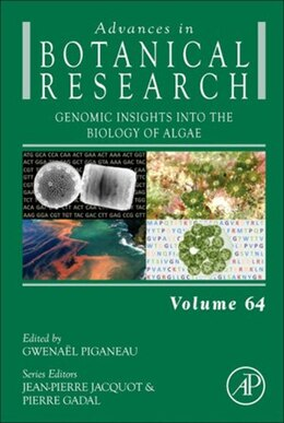 Book Genomic Insights into the Biology of Algae by Gwanael Piganeau
