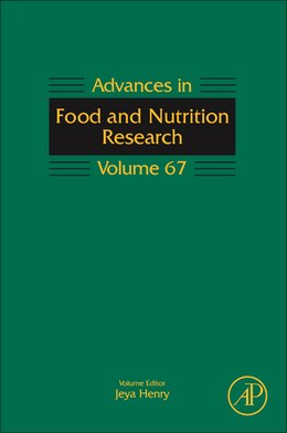 Book Advances In Food And Nutrition Research by Taylor