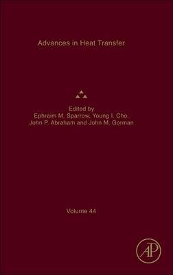 Book Advances In Heat Transfer by Ephraim M. Sparrow