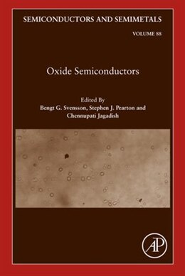 Book Oxide Semiconductors by Bengt G. Svensson