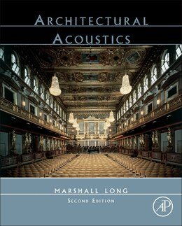 Book Architectural Acoustics by Marshall Long