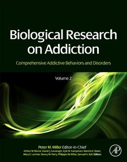 Book Biological Research On Addiction: Comprehensive Addictive Behaviors And Disorders, Volume 2 by Peter M. Miller