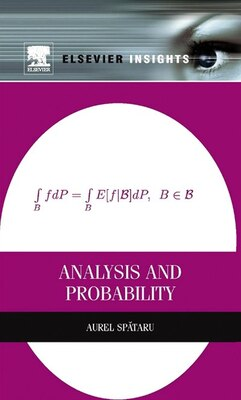 Book Analysis And Probability by Aurel Spataru