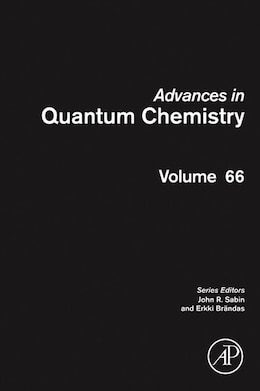 Book Advances In Quantum Chemistry by John R. Sabin