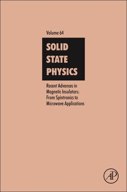 Book Recent Advances In Magnetic Insulators - From Spintronics To Microwave Applications by Mingzhong Wu