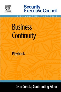 Book Business Continuity: Playbook by Bob Hayes