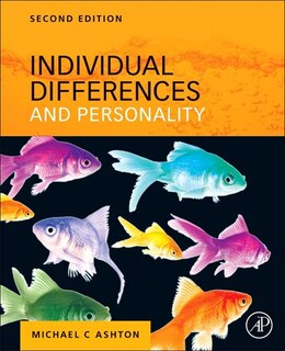 Book Individual Differences And Personality by Michael C. Ashton