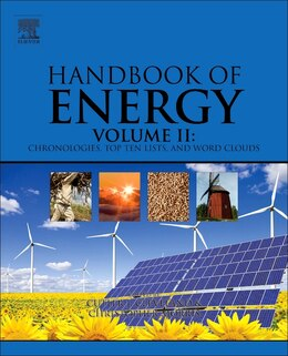 Book Handbook Of Energy: Chronologies, Top Ten Lists, And Word Clouds by Cutler J. Cleveland