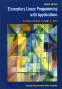 Book Elementary Linear Programming With Applications by Bernard Kolman