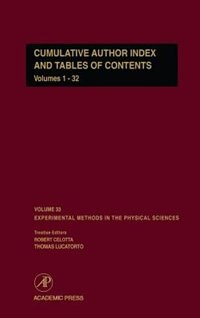 Book Cumulative Author Index and Tables of Contents Volumes1-32: Author Cumulative Index by Marc De Graef