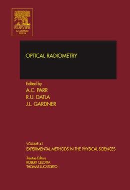 Book Optical Radiometry by Albert C. Parr