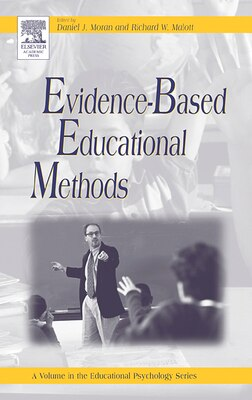 Book Evidence-based Educational Methods by Daniel J. Moran