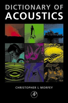 Book The Dictionary of Acoustics by Christopher Morfey