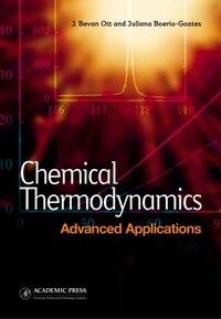 Chemical Thermodynamics: Advanced Applications