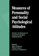Book Measures of Personality and Social Psychological Attitudes: Volume 1: Measures Of Social… by John Paul Robinson