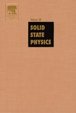 Book Solid State Physics by Henry Ehrenreich