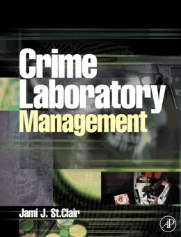 Book Crime Laboratory Management by Jami St. Clair