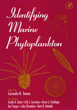 Book Identifying Marine Phytoplankton by Carmelo R. Tomas