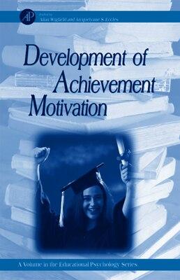 Book Development Of Achievement Motivation by Allan Wigfield
