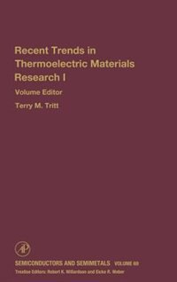 Book Advances In Thermoelectric Materials I by Terry Tritt