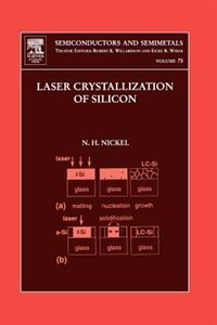 Book Laser Crystallization Of Silicon - Fundamentals To Devices by Norbert H. Nickel