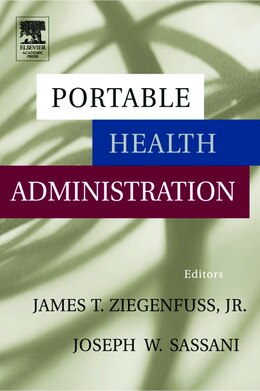 Book Portable Health Administration by James Ziegenfuss