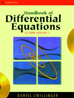Book Handbook Of Differential Equations by Daniel Zwillinger
