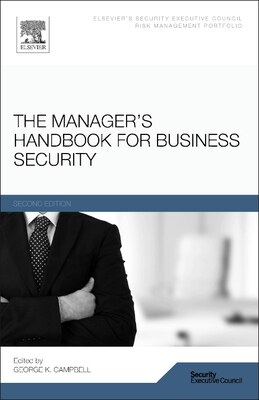 Book The Manager's Handbook For Business Security by George Campbell