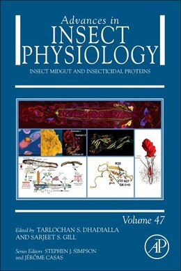 Book Insect Midgut And Insecticidal Proteins by Dhadialla