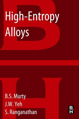 Book High-entropy Alloys by B.S. Murty